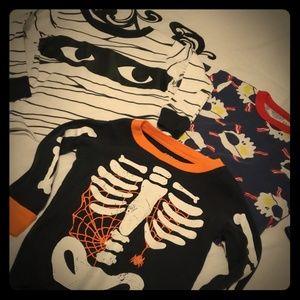 Halloween ser of 3 PJ tops